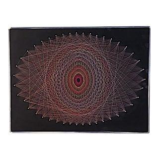 Mid-Century 1970s String Art