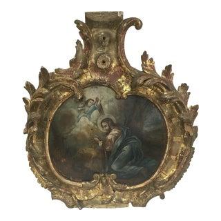 Antique 1800's Greek Cartouche
