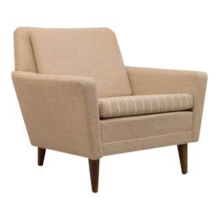 Folke Ohlsson Dux Wool Armchair