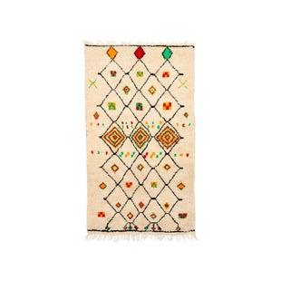 Vintage Azilal Handwoven Rug - 4′5″ × 8′