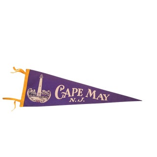 Cape May NJ Felt Flag