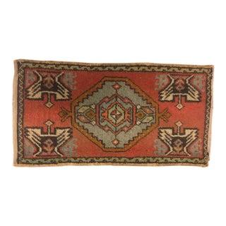 "Anatolian Tribal Handmade Carpet - 1'7"" x 3'"