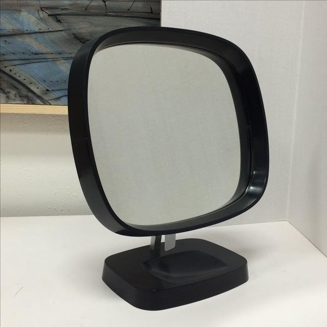 Midcentury Modern Danish Articulating Table Mirror - Image 2 of 8