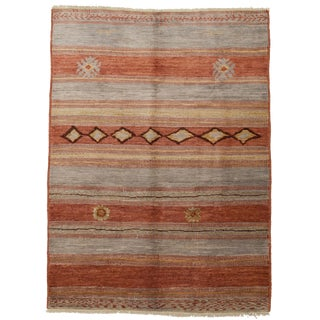 "Hand Knotted Moroccan Area Rug - 6'5"" X 8'8"""