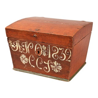 Upsala Swedish Marriage Trunk