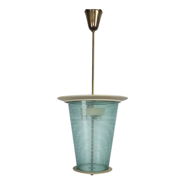 1935 Fontana Arte Pendant Lamp or Lantern - Image 1 of 9