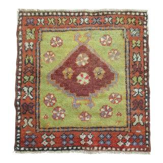 Vintage Turkish Anatolian Rug, 2'1'' x 2'3''