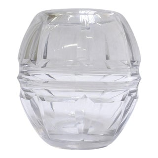 19th Century Crystal Vase
