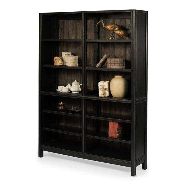 Sarreid Ltd Alamri Bookshelf - Image 4 of 6