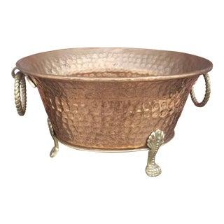 Copper & Brass Cachepot