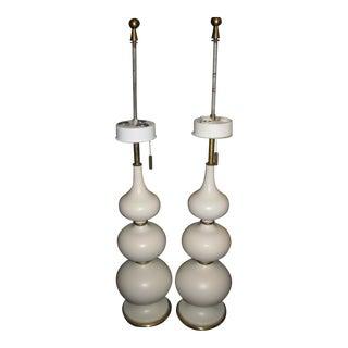 Gerald Thurston Mid-Century Modern Lamps- A Pair