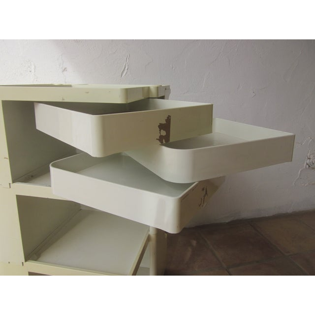 Mid Century Modern Taboret Cart Trolley - Image 6 of 9