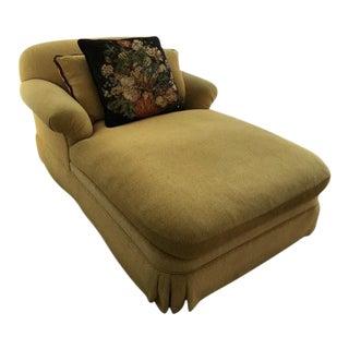 Custom Trafalgar Upholstered Chaise Lounge