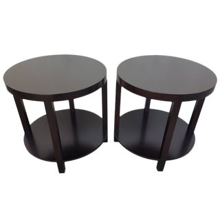 Scarce T. H. Robsjohn-Gibbings Circular End Tables