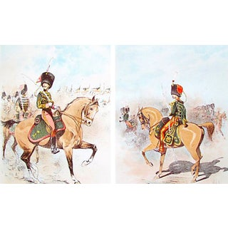 Vintage French Equine Prints, 1893 - A Pair