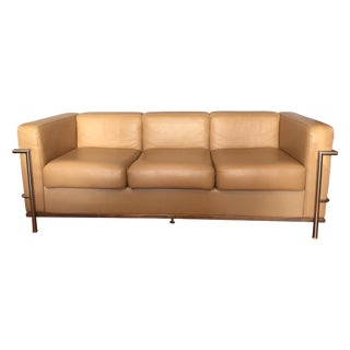 Lc2 Petit Confort Sofa Inspired by Le Corbusier