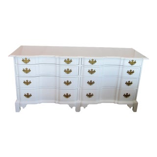 Century Furniture White Lacquer Chest of Drawers
