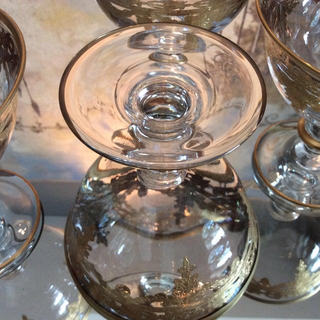Arte Italica Vetro Gold Dessert Bowls - Set of 4 - Image 7 of 10