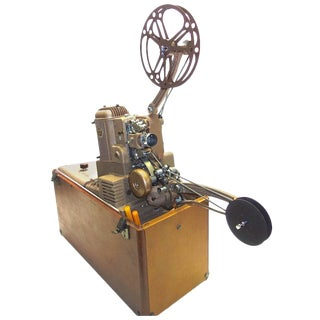 Rare 1948 Ampro Antique Cinema Projector. Display As Sculpture. Working Correctly.r