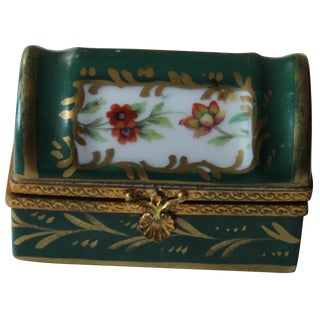 French Porcelain Box