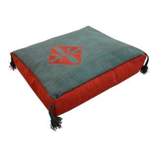 Turkish Hand Woven Floor Cushion Cover - 21″ X 26″