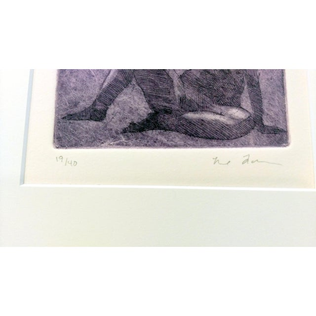 Rachel Foreman Monochrome Nude Etchings - Set of 3 - Image 11 of 11