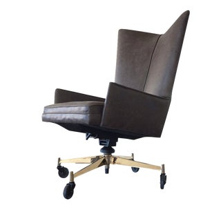 Paul McCobb Charcoal Executive Chair
