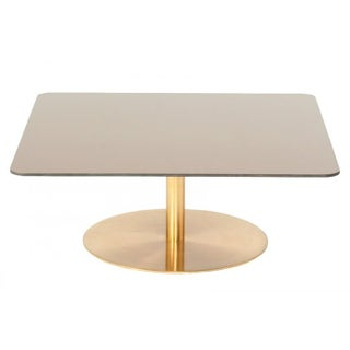 Tom Dixon Glass & Brass Coffee Table