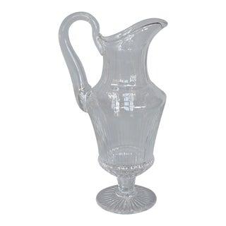 Saint Louis Crystal Water Jug