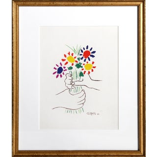 Pablo Picasso Offset Lithograph - Le Bouquet