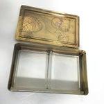 Image of Hand-Painted Leaf Motif Trinket Box