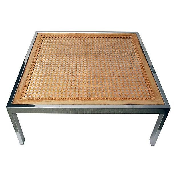 Image of Chrome Coffee Table by Milo Baughman