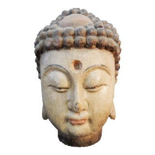 LG Hand carved Buddha Head