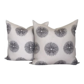 Kelly Wearstler Sea Urchin Pattern Pillows- A Pair