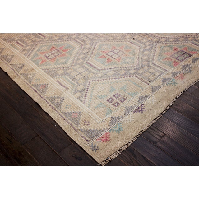 Apadana - Vintage Turkish Summakh Rug - 6' x 10' - Image 2 of 2