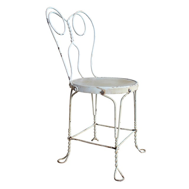 Image of Vintage Ice Cream Parlor Dining Set