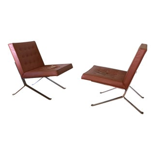 Olivier Mourgue Lounge Chairs - A Pair