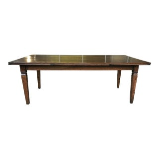 English Antique Wood Dining Table