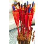 Image of Vintage Wooden Arrows and Case Set