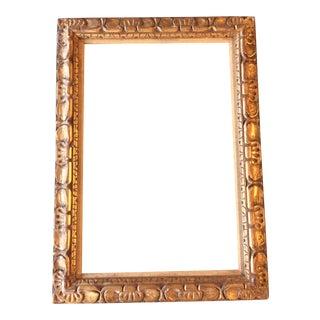 Vintage Carved Gilt Wood Frame