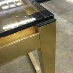Image of Vintage Modern Brass Side Table