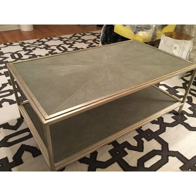 Image of Shagreen Coffee Table