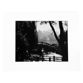 """Garden of Peace"" Black & White Photograph"
