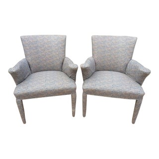 Mid-Century Danish Upholstered Chairs - A Pair