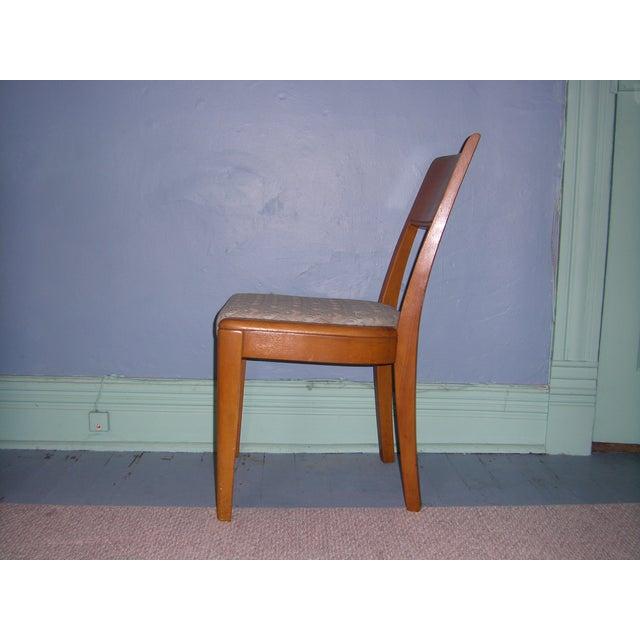 Heywood Wakefield Keyhole Desk & Chair - Image 10 of 11