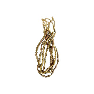 Brass & Copper Bead Strands - Set of 4