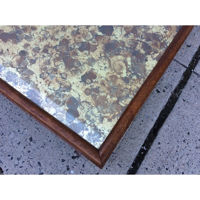 1960's James Mont Style Large Coffee Table - Image 9 of 11