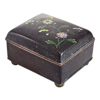 1920s Chinese Cloisonné Box
