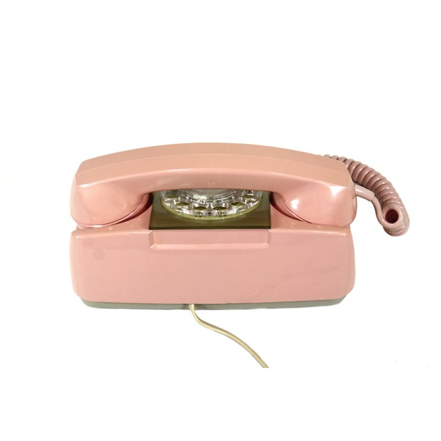 Image of Pink Princess Rotary Telephone