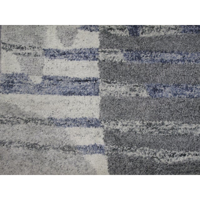 Indian Tufted Rug - 5′ × 7′8″ - Image 2 of 5